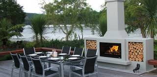 the douglas outdoor fireplace by trendz outdoors free delivery