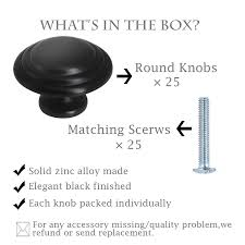 replacement kitchen cupboard door knobs gobrico 1 1 3 black vintage bi fold door knob kitchen