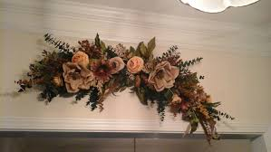 floral swag large silk floral arrangement shipping included