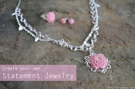 create your own necklace create your own statement jewelry with epoxy clay the d i y