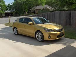 lexus ct200 yellow review 2011 lexus ct200h autosavant autosavant