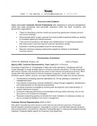 Customer Service Supervisor Resume Samples by Customer Service Experience Resume Free Resume Example And