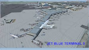 Map Of Jfk Airport New York by John F Kennedy Airport Scenery For Fsx
