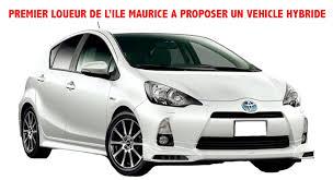 Toyota Aqua Toyota Aqua Hybrid Rental In Mauritius Cheap Car Rental Mauritius