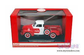motor city coca cola chevy up 1953 1 32 scale diecast