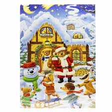 chocolate advent calendar 2017 by muller muller 2 6 oz