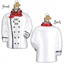 chef cook ornaments personalized ornaments for you