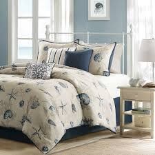 Beachy Comforters Interesting Beach Themed Comforter Sets Bedding S 2355198280 To