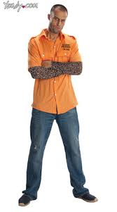 costume ideas men prisoner costume prisoner costume mens prisoner