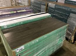 pallet of toucan tf3104 scraped laminate flooring