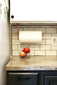 kitchen cabinet towel rail kitchen cabinet towel rack towel rack mounted on maple cabinet door