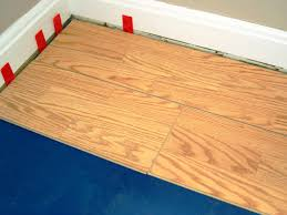 Putting Laminate Flooring On Stairs How To Install A Laminate Floating Floor How Tos Diy