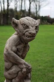 gargoyle garden statue free uk mainland delivery co