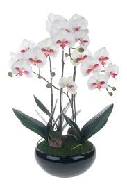 artificial table centerpieces red vanilla phalaenopsis 30