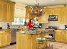 kitchen luxury yellow paint interior designs ideas home and