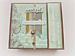 nautical photo album handmade by tyss nautical memories album