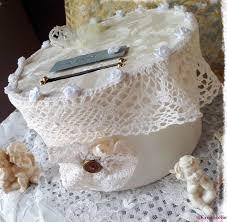 urne de mariage urne de mariage ronde ivoire bonheur décoration mariage