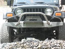 Elite Prerunner Winch Front Bumper Jeep Cj Yj Tj Lj U002754 U002706