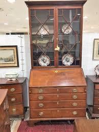 Chippendale Secretary Desk by English Antique Secretaries And Desks Georgian Secretary