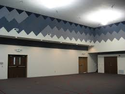 acoustical absorbing material echo eliminator wall panels