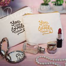 wedding souvenir rasa cinta wedding souvenir you look lovely today cosmetic pouch