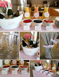 Wedding Shower Decorations by Pink U0026 Gold Bridal Shower Shop Party Boutique Bubbly Bar