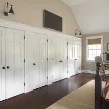 Wall To Wall Closet Doors Tv Closet Doors Design Ideas
