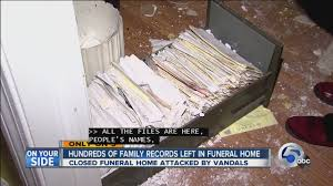funeral homes in cleveland ohio cleveland family personal records left exposed to criminals at
