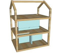 Free Wood Doll Furniture Plans by Ana White Dream Dollhouse Diy Projects