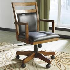 Ashley Office Desk by Home Office Desk Chair With Cutout Detail By Signature Design By