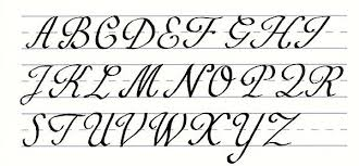 how to draw fancy cursive letters a z docoments ojazlink