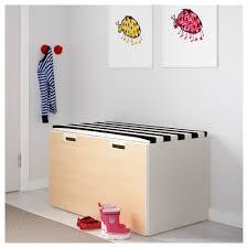 toy storage benches stuva storage bench white pink ikea