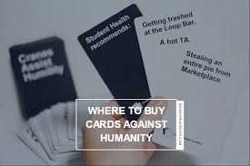 buy cards against humanity can i buy cards against humanity in stores