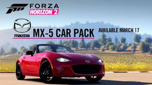 mazda site officiel forza horizon 2 mazda mx 5 dlc trailer 2015 xbox one video