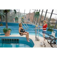 Motorized Pool Chair Wheelchair To Water Pool Lift Surehands