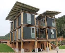 Energy Efficient Home Construction Bamboo Construction Inhabitat Green Design Innovation
