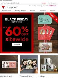 vistaprint black friday vistaprint u003e black friday savings continue up to 60 off