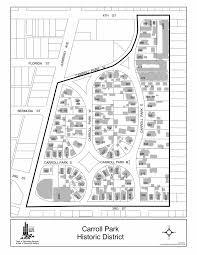 Long Beach Map Carroll Park Long Beach Ca Fun Fact Thursday
