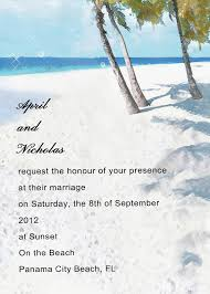 beach wedding invitation wording u2013 gangcraft net