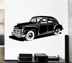 cool car wallpaper promotion shop for promotional cool car cool wheel vehicle leather reto carc wall sticker vinyl classic home living room decor wall mural art design car wallpaper y 811