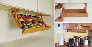 spice cabinets for kitchen under cabinet spice rack a smart solution for your kitchen home