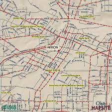 of akron map akron ohio city map akron ohio mappery