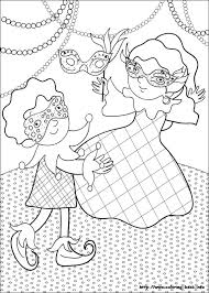 carnival coloring pages coloring pages