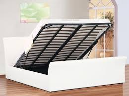 4ft Ottoman Beds Uk Sleepland Davinci Ottoman Sleigh Bed 4ft 6 Or White