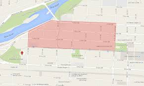 Calgary Map Underground Fire In West Downtown Calgary Forces Thousands To