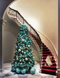 Brown And Turquoise Christmas Tree Decorations by