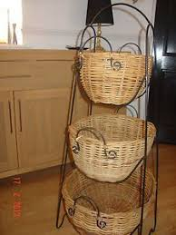 fruit basket stand 5 tiered metal basket stand for the home metal
