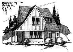 Sample Floor Plans For The 828 Coastal Cottage Simple Tiny Home by Eplans Tudor House Plan Sweet Tudor Cottage 1319 Square Feet