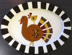 painted platters paint your own pottery thankful platter with thumbprints for
