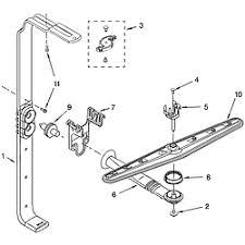 Kenmore Dishwasher Will Not Start Kenmore Dishwasher Parts Model 66517034402 Sears Partsdirect